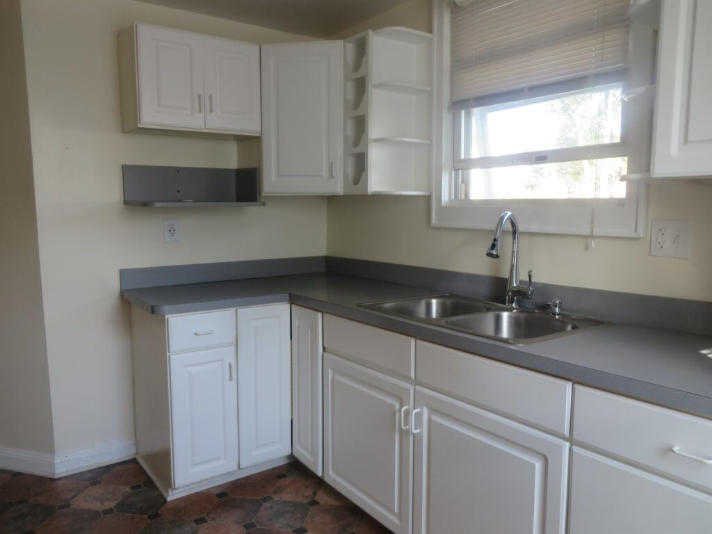 big kitchen with sink of a rental property managed by TESO Property Management in Liberty